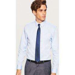 Koszula comfort fit - Niebieski. Niebieskie koszule męskie marki Reserved, m. Za 119,99 zł.
