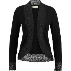 Kardigany damskie: Cream VANESSA CARDIGAN Kardigan pitch black