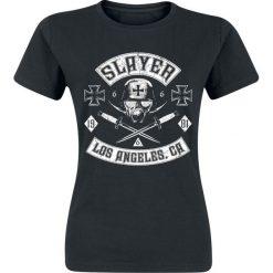 Slayer Tribe Koszulka damska czarny. Czarne t-shirty damskie Slayer, l. Za 74,90 zł.
