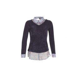 Swetry Smash  URANIE. Niebieskie swetry klasyczne damskie Smash, l. Za 359,00 zł.