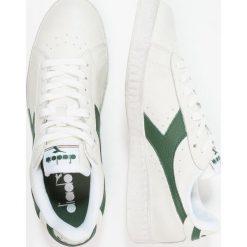 Diadora GAME WAXED Tenisówki i Trampki white/fogliage. Białe tenisówki damskie Diadora, z materiału. Za 369,00 zł.