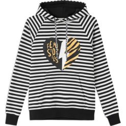 Bluzy rozpinane damskie: Bluza Glossi Black&white stripes