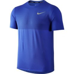 Koszulka do biegania męska NIKE ZONAL COOLING RELAY TOP SHORT SLEEVE / 833580-452 - NIKE ZONAL COOLING RELAY TOP SHORT SLEEVE. Niebieskie t-shirty męskie Nike, m, z długim rękawem, do biegania. Za 119,00 zł.