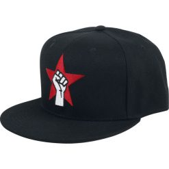Czapki męskie: Rage Against The Machine Fist Logo Czapka Snapback czarny
