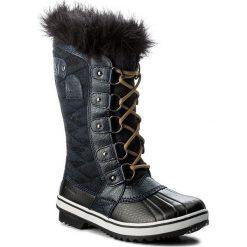 Buty zimowe damskie: Śniegowce SOREL – Tofino II NL2584 Collegiate Navy/Glare 464