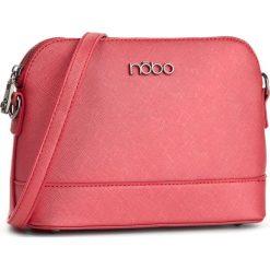 Torebka NOBO - NBAG-E1460-C005 Czerwony. Czerwone listonoszki damskie Nobo, ze skóry ekologicznej. W wyprzedaży za 109,00 zł.