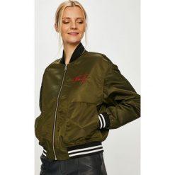 Tommy Jeans - Kurtka bomber. Szare bomberki damskie marki Tommy Jeans, l, z jeansu. Za 699,90 zł.