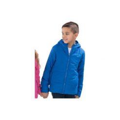 Kurtka chłopięca przejściowa, Z KIESZENIAMI, zapinana na zamek z przeszyciami, z kapturem. Niebieskie kurtki chłopięce przejściowe marki TXM, z kapturem. Za 29,99 zł.