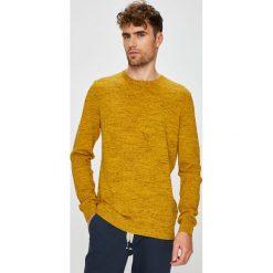 Medicine - Sweter Basic. Brązowe swetry klasyczne męskie MEDICINE, l, z bawełny, z okrągłym kołnierzem. Za 129,90 zł.