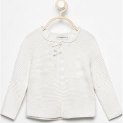 Sweter - Kremowy. Szare swetry dziewczęce marki bonprix, l, melanż. Za 89,99 zł.