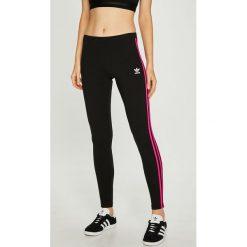 Adidas Originals - Legginsy. Szare legginsy adidas Originals, z bawełny. W wyprzedaży za 99,90 zł.