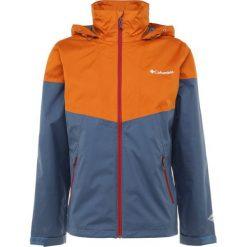 Columbia INNER LIMITS JACKET Kurtka hardshell dark blue/orange. Niebieskie kurtki sportowe męskie Columbia, m, z hardshellu. Za 399,00 zł.