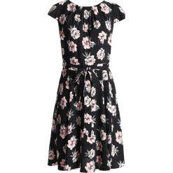 Sukienki hiszpanki: Dorothy Perkins Petite BILLIE BLOSSOM FLORAL SPOT DRESS Sukienka letnia black