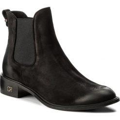 Półbuty CARINII - B4290 L43-000-000-C91. Żółte buty zimowe damskie Carinii, ze skóry, na płaskiej podeszwie. W wyprzedaży za 209,00 zł.