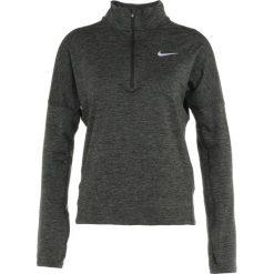 Nike Performance RUNNING DRY Koszulka sportowa sequoia/medium olive heather. Zielone topy sportowe damskie Nike Performance, xs, z elastanu. Za 219,00 zł.