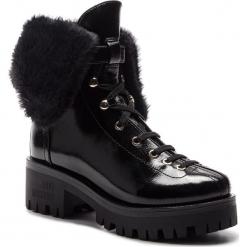 Trapery LOVE MOSCHINO - JA24196H06JE0000  Nero. Czarne buty zimowe damskie Love Moschino, z materiału. Za 1349,00 zł.