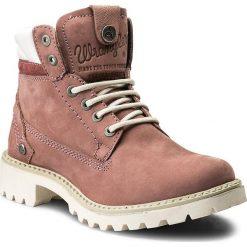 Trapery WRANGLER - Creek WL172500 Winter Rose 525. Czerwone buty zimowe damskie Wrangler, z materiału. W wyprzedaży za 289,00 zł.