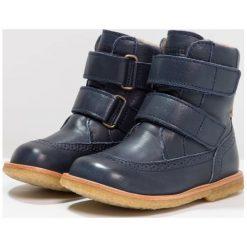 Bisgaard Botki blue. Niebieskie buty zimowe damskie Bisgaard, z materiału. W wyprzedaży za 423,20 zł.