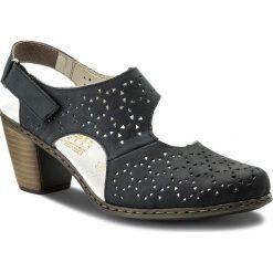 Sandały damskie: Sandały RIEKER – 40979-14 Blau