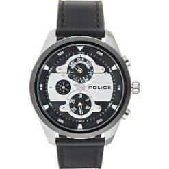 Police MARINE Zegarek schwarz. Czarne, analogowe zegarki męskie Police. Za 759,00 zł.