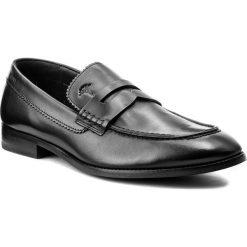 Półbuty JOOP! - Kleitos 4140003945 Black 900. Czarne buty wizytowe męskie JOOP!, z materiału. W wyprzedaży za 389,00 zł.