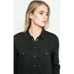 Noisy May - Koszula. Czarne koszule damskie marki Noisy May, l, z bawełny, casualowe, z klasycznym kołnierzykiem, z długim rękawem. W wyprzedaży za 59,90 zł.