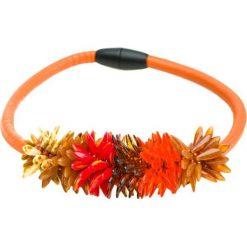Naszyjniki damskie: Naszyjnik w kolorze pomarańczowym