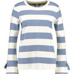 Tom Joule TIE SLEEVE JUMPER Sweter light blue. Niebieskie swetry klasyczne damskie marki Tom Joule, z bawełny. Za 359,00 zł.