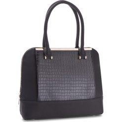 Torebka JENNY FAIRY - RC13895  Czarny. Czarne torebki klasyczne damskie marki Jenny Fairy, ze skóry ekologicznej, duże. Za 129,99 zł.