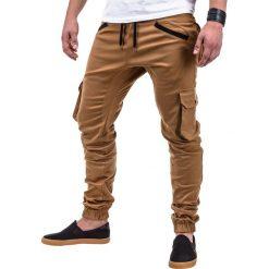 Spodnie męskie: SPODNIE MĘSKIE JOGGERY P388 – RUDE