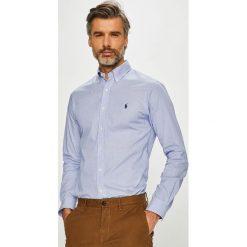 Polo Ralph Lauren - Koszula. Szare koszule męskie na spinki marki Polo Ralph Lauren, l, w paski, z bawełny, button down, z długim rękawem. Za 469,90 zł.