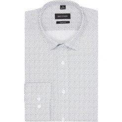 Koszula versone 5003a długi rękaw slim fit biały. Szare koszule męskie slim marki Recman, na lato, l, w kratkę, button down, z krótkim rękawem. Za 139,00 zł.