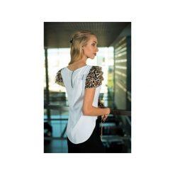 Bluzka Ocelot. Białe bluzki damskie marki Fevey, xs, z motywem zwierzęcym, klasyczne, z klasycznym kołnierzykiem. Za 150,00 zł.