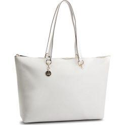 Torebka COCCINELLE - DS7 Alpha Saffiano E1 DS7 11 01 01 Blanche H10. Białe torebki klasyczne damskie Coccinelle, ze skóry. Za 1149,90 zł.