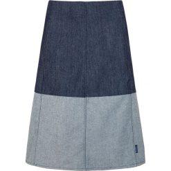 Spódniczki rozkloszowane: Dżinsowa spódnica w kolorze granatowo-błękitnym