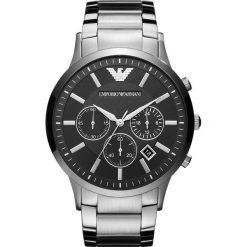 Emporio Armani - Zegarek AR2460. Czarne zegarki męskie Emporio Armani, szklane. Za 1599,00 zł.