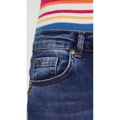 Mos Mosh SUMNER STEP BLUE Jeansy Slim Fit blue denim. Niebieskie boyfriendy damskie Mos Mosh. Za 399,00 zł.