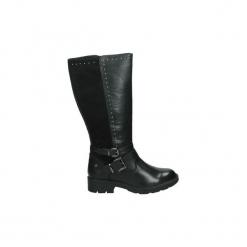 Kozaki Xti  48570. Czarne buty zimowe damskie marki Xti. Za 307,59 zł.