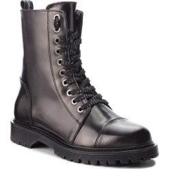 Trapery BRONX - 47008-M BX 829 Black 1. Czarne buty zimowe damskie marki Bronx, z materiału. W wyprzedaży za 419,00 zł.