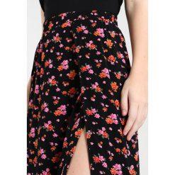 Długie spódnice: Noisy May NMEWI LONG SLIT SKIRT  Długa spódnica black
