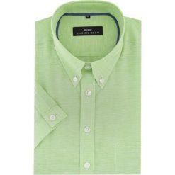 KOSZULA SERGIO 16-04-16-K. Niebieskie koszule męskie na spinki marki Giacomo Conti, m, z tkaniny, klasyczne. Za 169,00 zł.