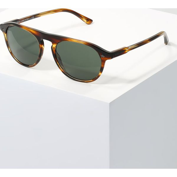 ca5ee07840ebfe Giorgio Armani Okulary przeciwsłoneczne brown/green - Pomarańczowe ...