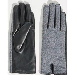 Melanżowe rękawiczki - Jasny szar. Szare rękawiczki damskie Sinsay. Za 29,99 zł.