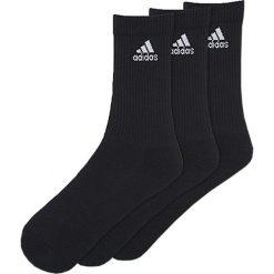 Skarpetki męskie: Adidas Skarpety męskie 3 Stripes Performance Crew 3-pack czarne r. 43-46