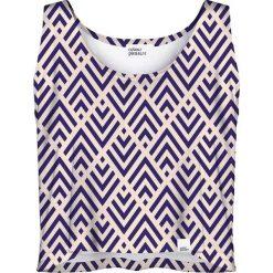 Colour Pleasure Koszulka damska CP-035 240 różowo-fioletowa r. XL-XXL. Fioletowe bluzki damskie marki Colour pleasure, uniwersalny. Za 64,14 zł.