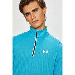 Under Armour - Bluza. Niebieskie bluzy męskie rozpinane Under Armour, l. Za 239,90 zł.