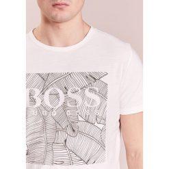 BOSS Orange TARIT Tshirt z nadrukiem offwhite. Białe koszulki polo BOSS Orange, m, z nadrukiem, z bawełny. Za 249,00 zł.