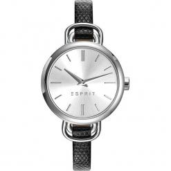 Zegarek kwarcowy w kolorze czarno-srebrnym. Czarne, analogowe zegarki damskie Esprit Watches, srebrne. W wyprzedaży za 272,95 zł.