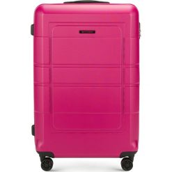 Walizka duża 56-3H-543-60. Czarne walizki marki Wittchen, z gumy, duże. Za 199,00 zł.