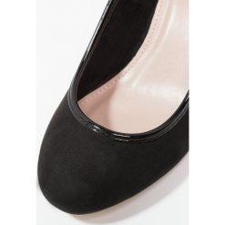 Buty ślubne damskie: Evans TRIM WEDGE Czółenka na koturnie black